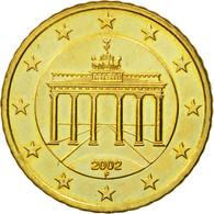 République Fédérale Allemande, 50 Euro Cent, 2002, SUP+, Laiton, KM:212 - Allemagne