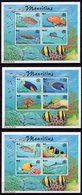 2000 - MAURITIUS - Mi. Nr. BL. 23/25 - NH - (UP121.11) - Mauritius (1968-...)