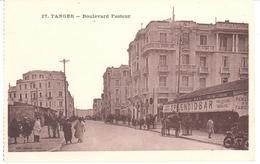 POSTAL   TANGER  -MARRUECOS  - BOULEVARD PASTEUR - Tanger