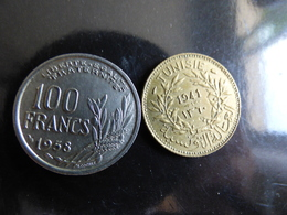 Lot 100 Francs +1 FRANC 1943 SUP - France