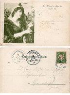Femme A La Harpe - Conr. Kiesel - Die Himmel Erzähfen Des Ewigen Ehre - Incunable : 1899 (108810) - Illustratoren & Fotografen