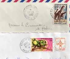 NIGER   LETTRES  VOIR SCANS - Niger (1960-...)