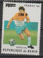 Bénin 2000 Mi. 1259 Football FIFA World Cup Football France 1998 Fußball Soccer Surchargé Overprint MNH** - Bénin – Dahomey (1960-...)