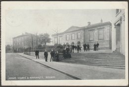 Assize Courts & Mayoralty, Bodmin, Cornwall, 1904 - Postcard - England