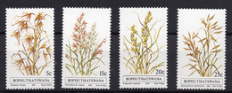 1981 - BOPHUTHATSWANA - Mi. Nr. 80/83 - NH - (UP.207.33) - Bophuthatswana