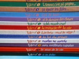 Lot Des 14 Premiers Album Titeuf, Zep, EditionsGlénat En Parfait état - Books, Magazines, Comics