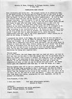 "1591 Letter From ""A Di Buas, Plymouth"" To ""Filippo Corsini, London"". Written In Italian, English Translation.  Ref 0573 - Autographs"
