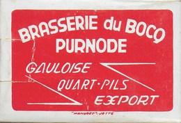 Jeu De Cartes à Jouer De La Brasserie Du Bocq. Purnode. Yvoir. Bière - 32 Cards