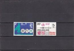 Pitcairn Nº 94 Al 95 - Sellos