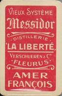 Jeu De Cartes à Jouer De La Brasserie  Distillerie. Fleurs, Messidor, Amer François... - 32 Cards