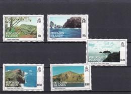 Pitcairn Nº 402 Al 406 - Sellos