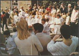 The Furry Dance In Church Street, Helston, Cornwall, C.1980 - Dennis Postcard - England