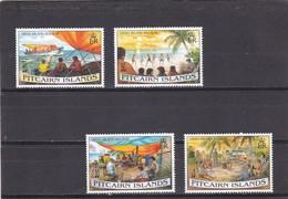 Pitcairn Nº 444 Al 447 - Sellos