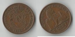 BELGIQUE  2 CENTIMES 1905 - 1831-1865: Léopold I