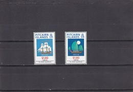 Pitcairn Nº 466 Al 467 - Sellos