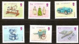 Guernsey Guerrnesey 2015 Série Toys *** MNH Europa - Guernsey