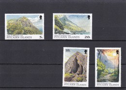 Pitcairn Nº 492 Al 495 - Sellos
