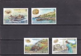 Pitcairn Nº 538 Al 541 - Sellos