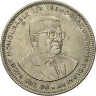 Monnaie, Mauritius, Rupee, 2002, TB+, Copper-nickel, KM:55 - Mauritius