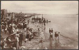 Weston Sands, Weston-Super-Mare, Somerset, 1917 - RP Postcard - Weston-Super-Mare