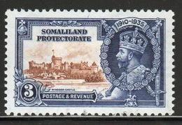 Somaliland Protectorate 1935 George V Three Anna Silver Jubilee Stamp. - Somaliland (Protectorate ...-1959)