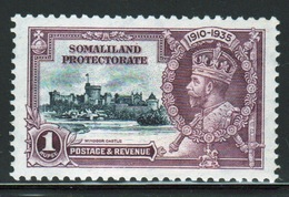 Somaliland Protectorate 1935 George V One Rupee Silver Jubilee Stamp. - Somaliland (Protectorate ...-1959)