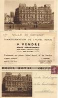 VILLE DE DIEPPE-APPARTEMENTS A VENDRE-HALL-HOTEL ROYAL-PARIS-CREPY EN VALOIS-CASINO-PLAGE- - Dieppe