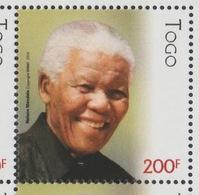 Togo 2018 Mi. ? Stamp Joint Issue PAN African Postal Union Nelson Mandela Madiba 100 Years - Togo (1960-...)