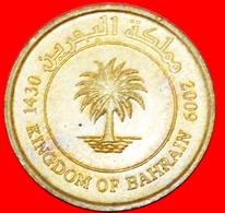 # YEAR=TYPE: KINGDOM Of BAHRAIN ★ 5 FILS 1430 2009 MINT LUSTER! LOW START ★ NO RESERVE! - Bahrain