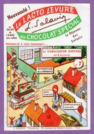 Buvard Salavin N° 7 Levure Au  Chocolat Special - Signalisation Routiere En 8 Buvards - Cocoa & Chocolat