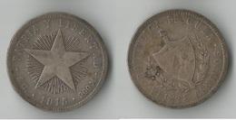 CUBA  20 CENTAVOS 1915   ARGENT - Cuba