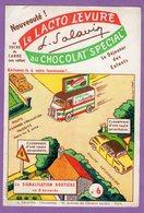 Buvard Salavin N° 6 Levure Au  Chocolat Special - Signalisation Routiere En 8 Buvards - Cocoa & Chocolat