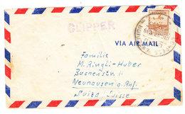 Ecuador CLIPPER AIRMAIL COVER TO Switzerland - Ecuador