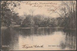 Der Neue See Im Tiergarten, Berlin, 1911 - AK - Tiergarten