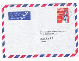 Ecuador AIRMAIL COVER TO Switzerland - Ecuador