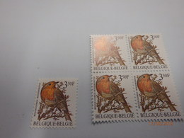 1986 Buzin 2223 Roodborstje 4+1 - 1985-.. Vögel (Buzin)