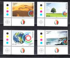 Malta  -  2008. Pianeta Terra: Protezione. Planet Earth: Protection. Complete MNH Set - Protezione Dell'Ambiente & Clima