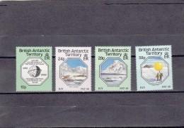 Territorio Antartico Britanico Nº 164 Al 167 - Territorio Antártico Británico  (BAT)