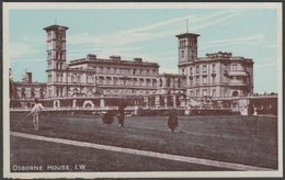 Osborne House, Isle Of Wight, C.1910 - J Welch & Sons Postcard - Cowes