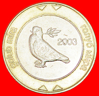 # GREAT BRITAIN: BOSNIA AND HERZEGOVINA ★ 2 MARKS 2003! LOW START ★ NO RESERVE! - Bosnia And Herzegovina