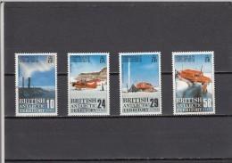 Territorio Antartico Britanico Nº 168 Al 171 - Territorio Antártico Británico  (BAT)