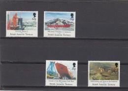 Territorio Antartico Britanico Nº 205 Al 208 - Territorio Antártico Británico  (BAT)