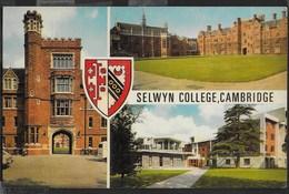 SELWIN COLLEGE - CAMBRIDGE U.K. - FORMATO PICCOLO - VIAGGIATA 1981 - Scuole