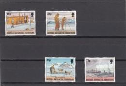 Territorio Antartico Britanico Nº 241 Al 244 - Territorio Antártico Británico  (BAT)