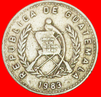 # MAYAN SCULPTURE (1976-2009): GUATEMALA ★ 10 CENTAVOS 1983! LOW START ★ NO RESERVE! - Guatemala