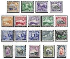 CYPRUS, Definitives, Yv 134/46, */o M/U, F/VF, Cat. € 90 - Cyprus (...-1960)