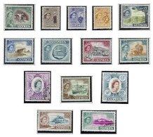 CYPRUS, Definitives, Yv 156/67, 169/70, */o M/U, F/VF, Cat. € 64 - Cyprus (...-1960)