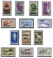 CYPRUS, Definitives, Yv 194/206, ** MNH, F/VF, Cat. € 120 - Cyprus (...-1960)
