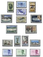 CYPRUS, Commemoratives, Yv 220/28, 235/41, ** MNH, F/VF, Cat. € 32 - Cyprus (...-1960)