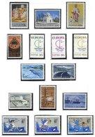 CYPRUS, Commemoratives, Yv 257/59, 262/64, 279/83, 287/89, ** MNH, F/VF, Cat. € 19 - Cyprus (...-1960)